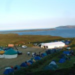 The Upper Field @ Jigs & Rigs Festival, Rathlin Island, Co. Antrim, Northern Ireland, August 2004.