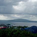 More of the View from Jigs & Rigs Festival, Rathlin Island, Co. Antrim, Northern Ireland, August 2009.